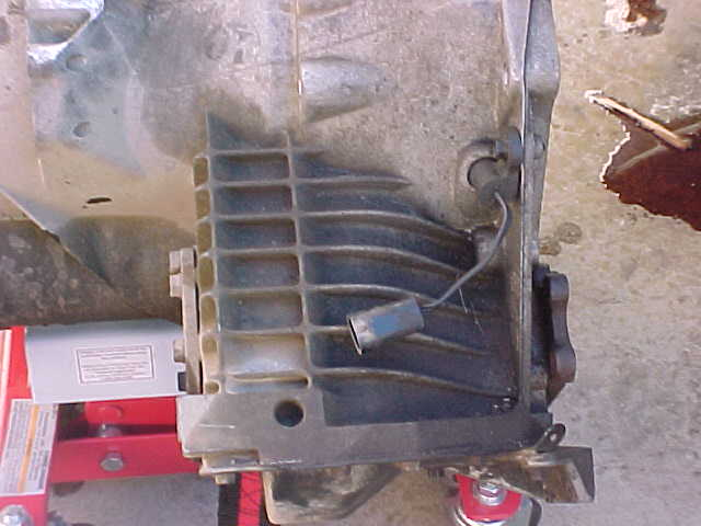 Chrysler Minivan transmission Removal & Replacement