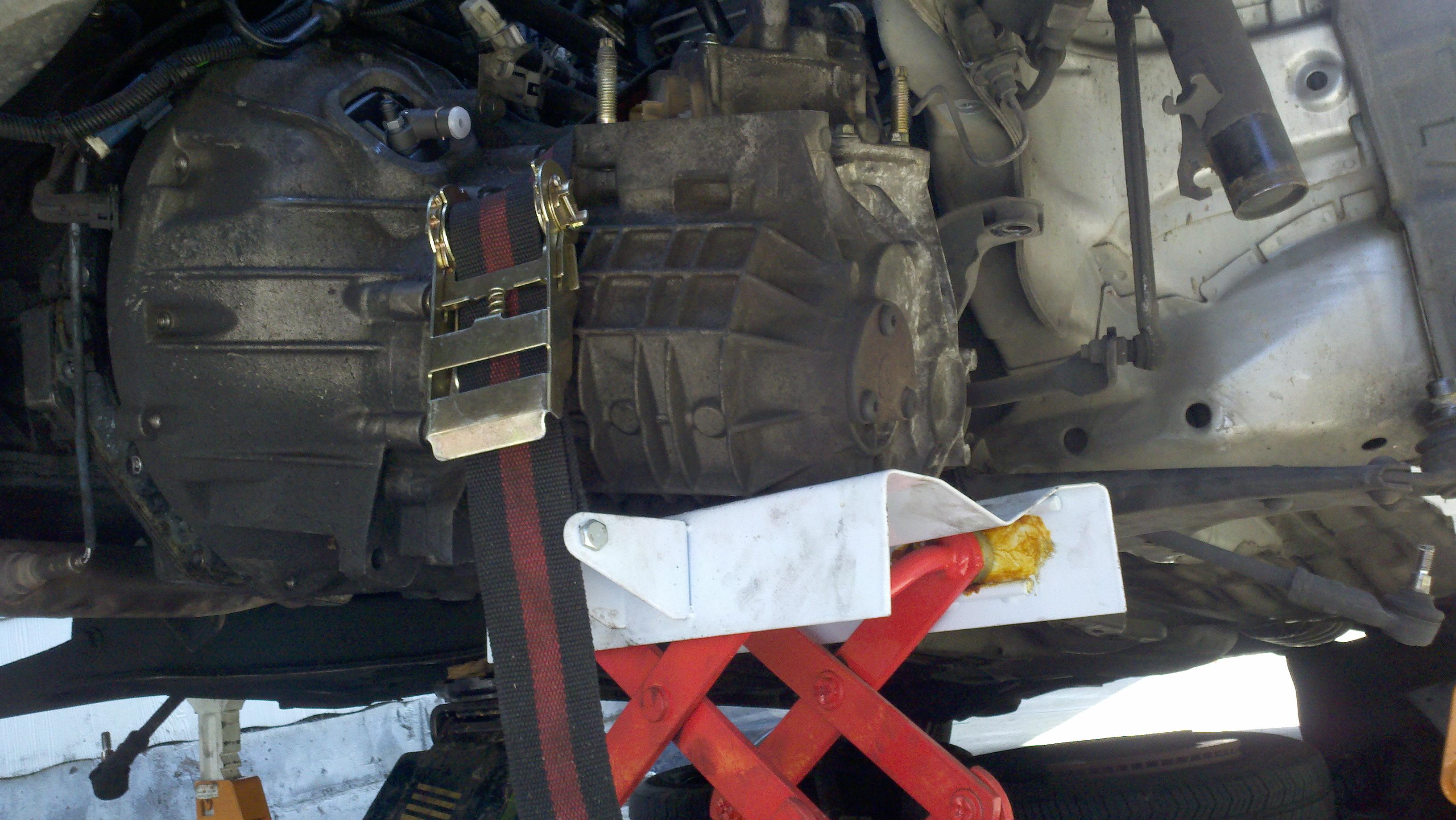 ford focus shift cable removal